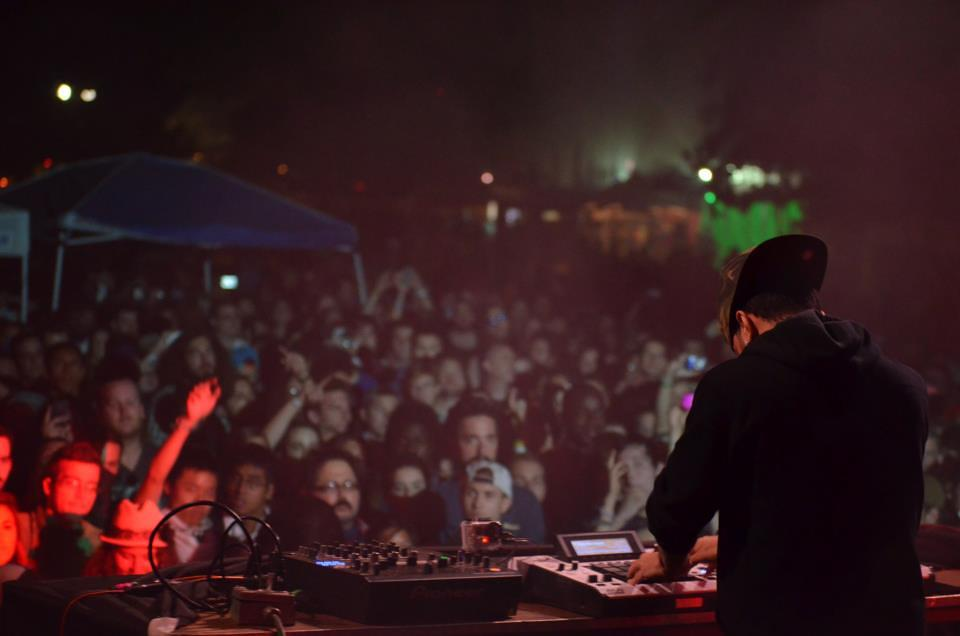 AraabMuzik at Fun Fun Fun Fest