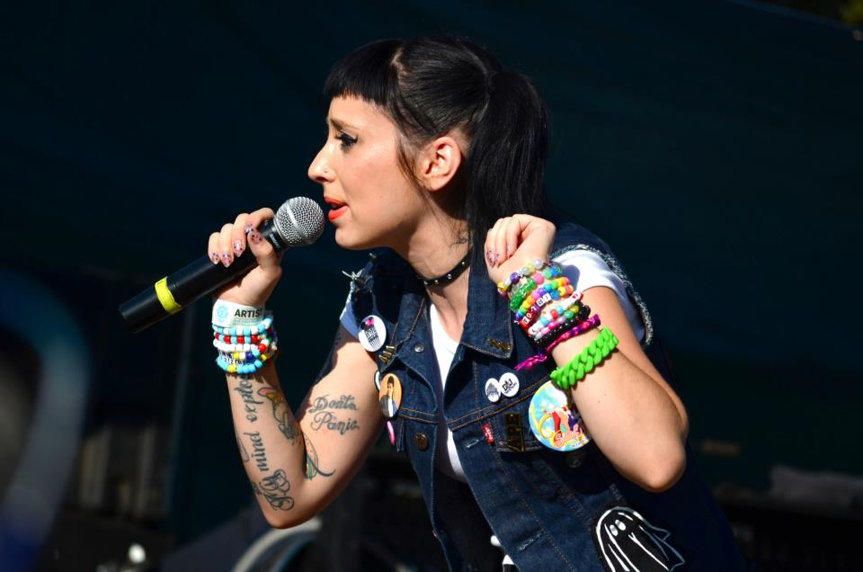 Kreayshawn at Fun Fun Fun Fest