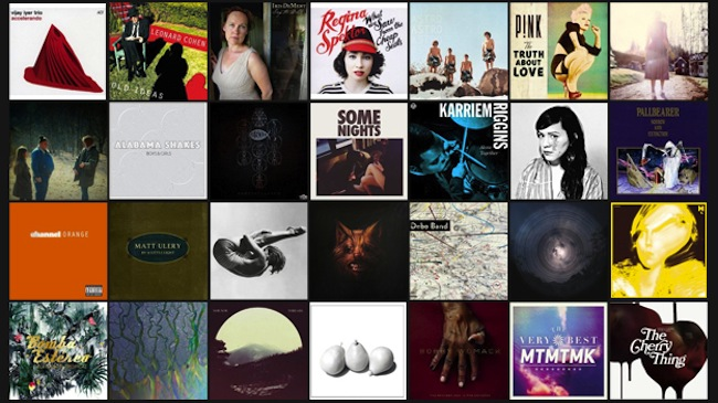 NPR Music's 50 Favourite Albums Of 2012 - NPR