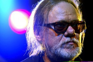 Tommy Ramone of former U.S. punk band 'The Ramones' addresses the media in Berlin