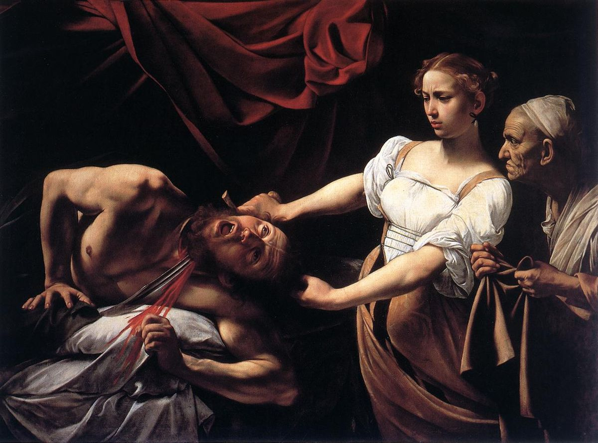 Judith Beheading Holofernes by Caravaggio 1599-1602